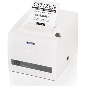 Citizen CT-S310II *hvit* 203dpi USB - RS232