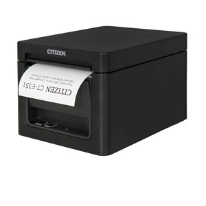 Citizen E351USB, USB + serial; front svart