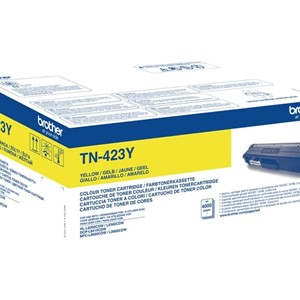 BROTHER TN423Y Toner Cartridge Yellow HC