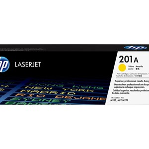 HP 201A Tonercartridge yellow 1.400 pages standard capacity