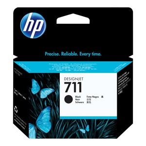 HP 711 ink black 80 ml DJ T120 520