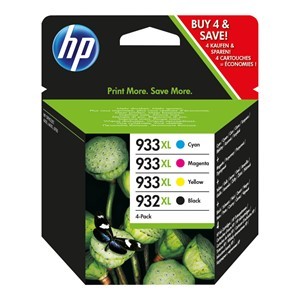 HP 932XL/933XL ink cartridge black and tri-color high capaci