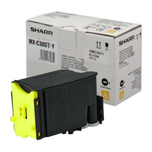 Sharp Toner Yellow (MX-C300/301/303)