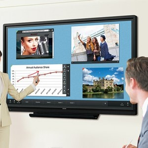 "Sharp PN60TW3 60"" Edge LED, 10 points Multi Touch Screen"